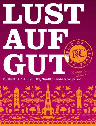 LUST AUF GUT Magazin | Ulm Nr. 162