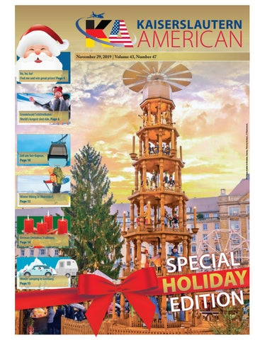 Kaiserslautern American - Special Edition, Nov. 29, 2019