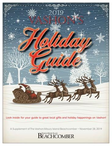 2019 Vashon Holiday Gift Guide