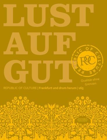 LUST AUF GUT Magazin | Frankfurt Nr. 165