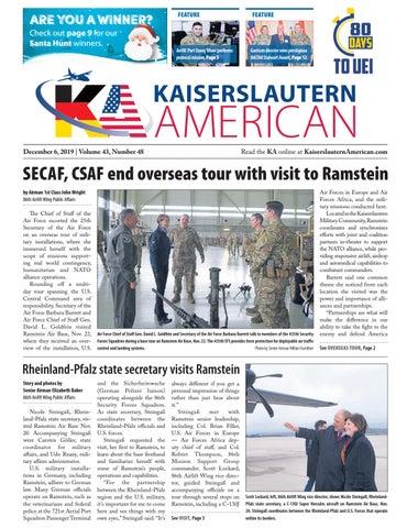 Kaiserslautern American, Dec. 6, 2019