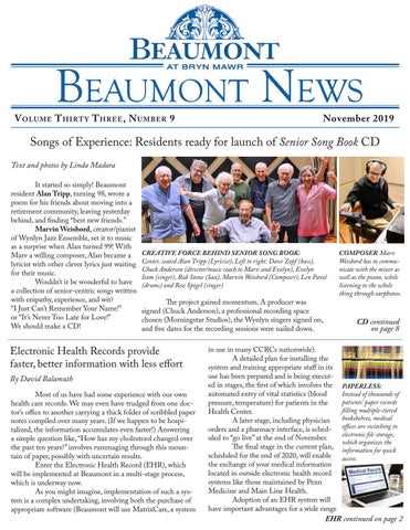 Beaumont News, November 2019