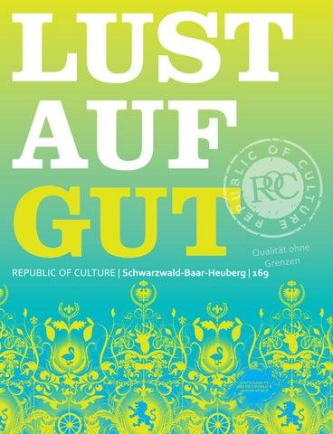 LUST AUF GUT Magazin | Schwarzwald-Baar-Heuberg Nr. 169