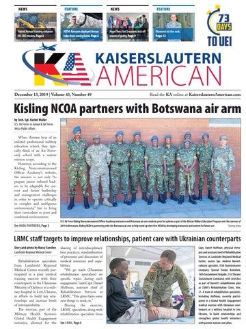 Kaiserslautern American, Dec. 13, 2019