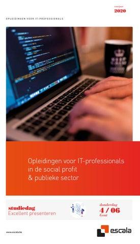 Escala opleidingen voor IT professionals Voorjaar 2020