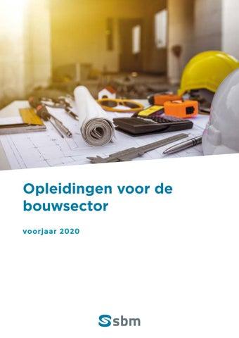 SBM opleidingen voor de bouwsector Voorjaar 2020