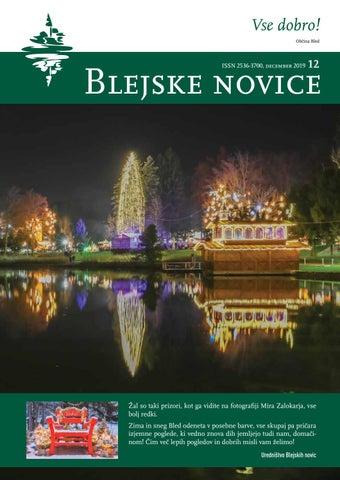 Blejske novice - december 2019
