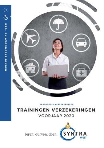 Syntra West Verzekeringen Voorjaar 2020