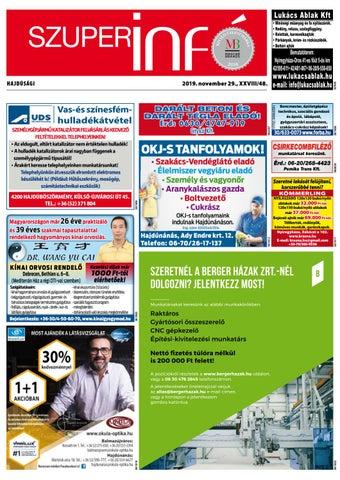 Hajduboszormeny 2019.11.29