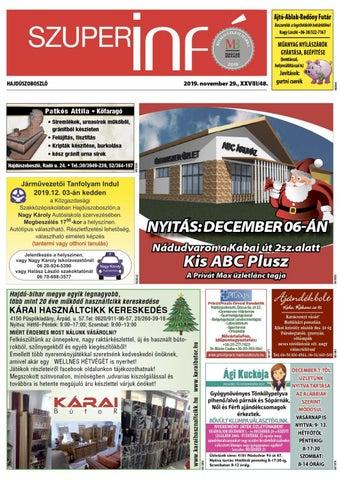 Hajduszoboszlo 2019.11.29