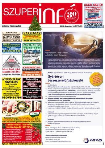 Miskolc 2019.12.20