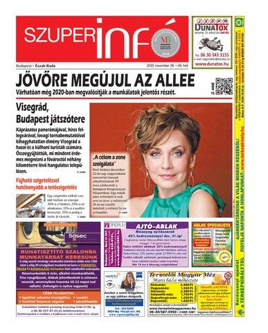 Budapest eszak-buda 2019.11.28