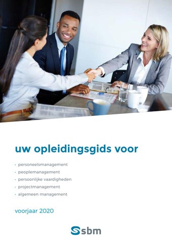 SBM Business en people management Voorjaar 2020