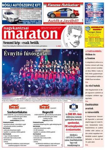 Nagykanizsai Maraton - 2020. 01. 10.