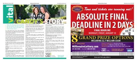 January 08, 2020 Goldstream News Gazette