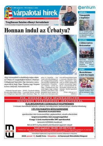 Várpalotai Hírek - 2020. 01. 10.