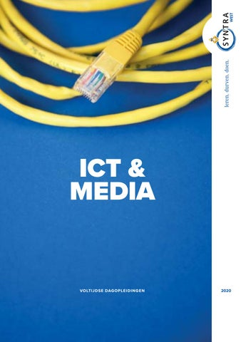 Syntra West sectorbrochure ICT en Media VJ 2020
