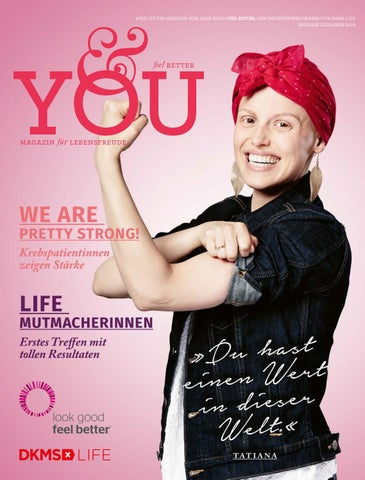 DKMS LIFE Magazin &you 1/2019
