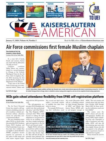 Kaiserslautern American, January 17, 2020