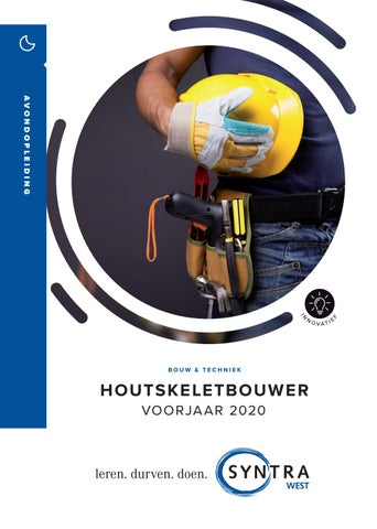 Syntra West Houtskeletbouw VJ 2020