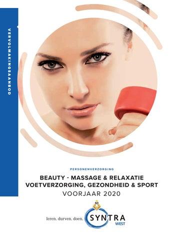 Syntra West Beauty sport gezondheid VJ 2020