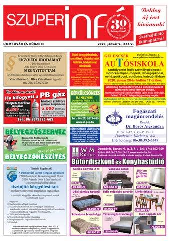 Dombóvári Szuperinfó 2020. 02. szám