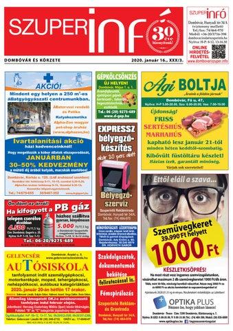 Dombóvári Szuperinfó 2020. 03. szám