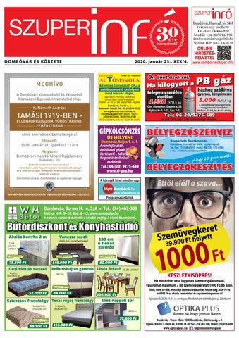 Dombóvári Szuperinfó 2020. 04. szám