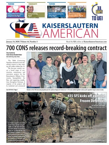 Kaiserslautern American, January 24, 2020