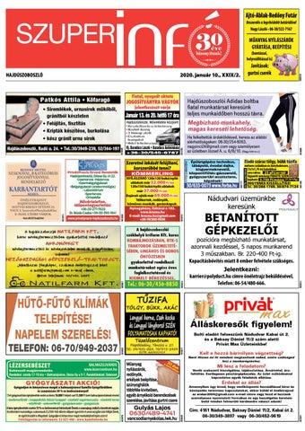 Hajduszoboszlo 2020.01.10