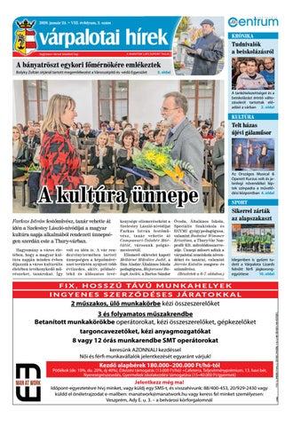 Várpalotai Hírek - 2020. 01. 24.
