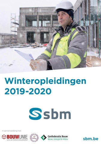 SBM Winteropleidingen 2020