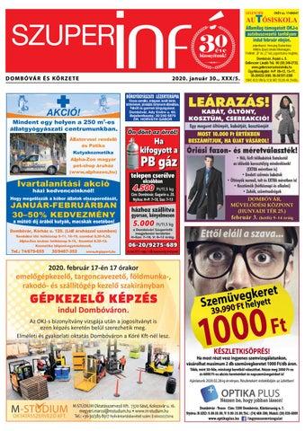 Dombóvári Szuperinfó 2020. 05. szám