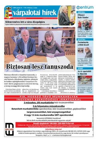 Várpalotai Hírek - 2020. 01. 31.