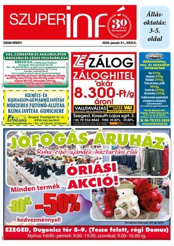 Szeged 2020.01.31