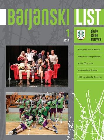 Barjanski list januar 2020