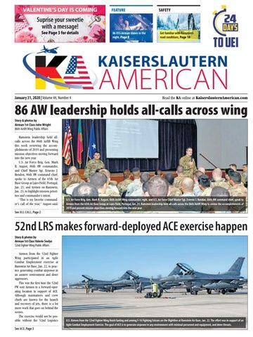 Kaiserslautern American, January 31, 2020