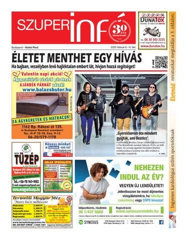 Budapest Kelet-Pest 2020.02.06.