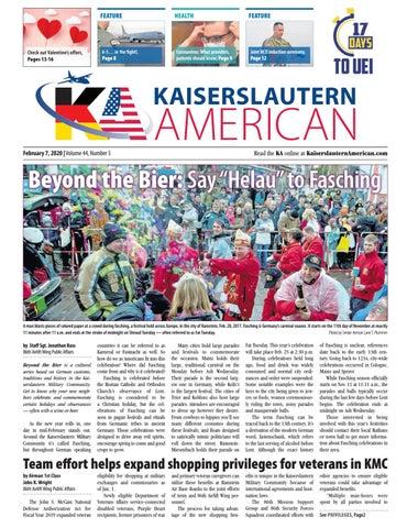 Kaiserslautern American, February 7, 2020
