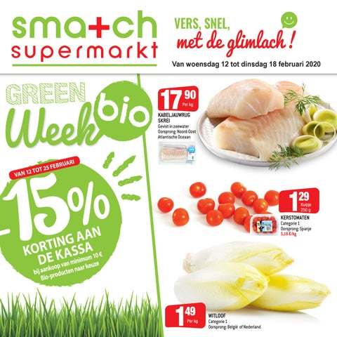 Green Week bij Smatch