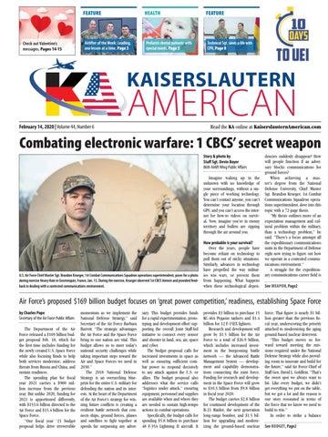 Kaiserslautern American, Feb. 14, 2020