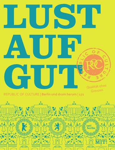 LUST AUF GUT Magazin | Berlin Nr. 171