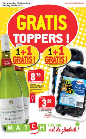 Gratis toppers!
