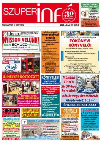 Tiszaújváros 2020.02.19