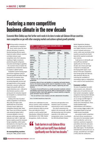 Fostering a more competitive business climate in the new decade