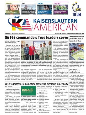 Kaiserslautern American, February 21, 2020