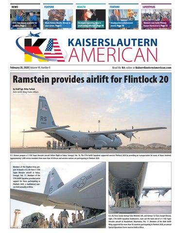 Kaiserslautern American, Feb. 28, 2020