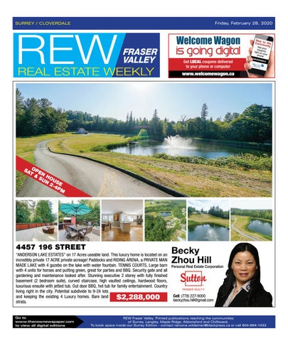 February 28, 2020 Real Estate Weekly - Surrey