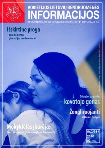 "VLB ""INFORMACIJOS"", 2020 M. VASARIS NR. 02/589"