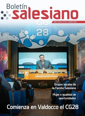 Boletín Salesiano, marzo de 2020